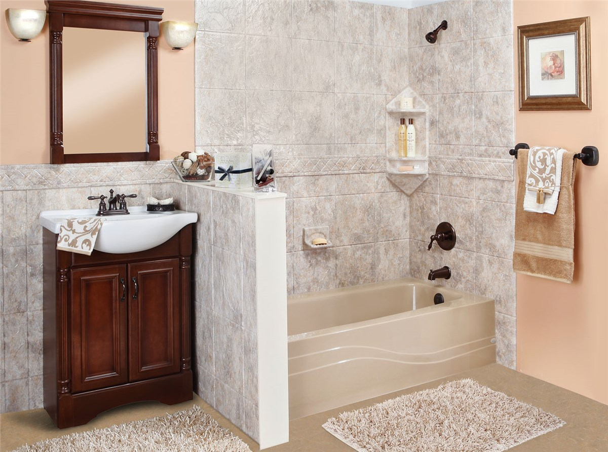 Luxury Bath One Day Remodel